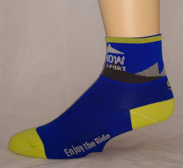 "Methow Cycle & Sport Coolmax Sock 2.5"" Cuff"