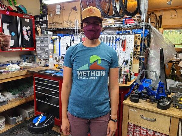 Methow Cycle & Sport Women's Sun Logo Tee