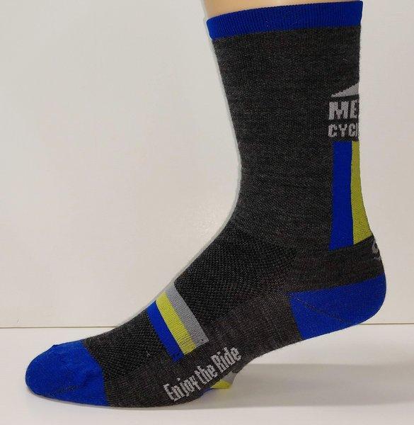 """Methow Cycle & Sport Wool Sock - 7"""""""
