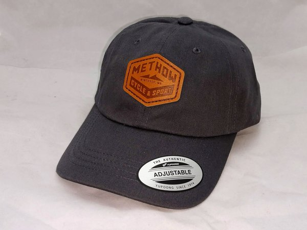 Methow Cycle & Sport Leather Patch Hat
