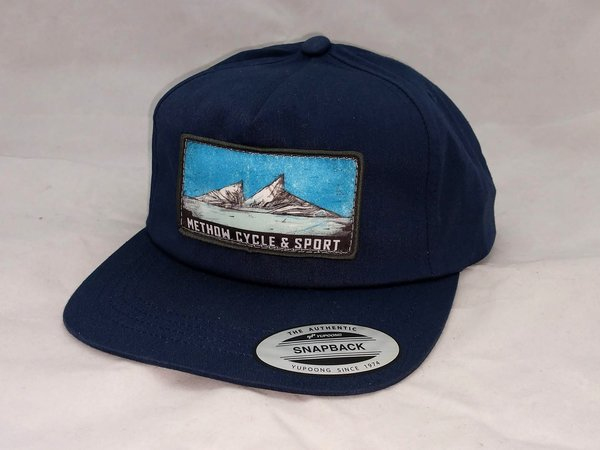 Methow Cycle & Sport Unstructured Mountain Logo Hat