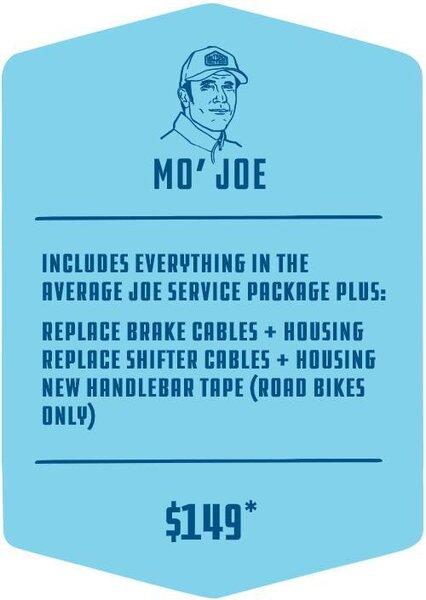 Methow Cycle & Sport Mo Joe Service Package