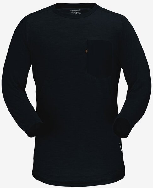 Norrøna Skibotn Wool 3/4 T-shirt Men's
