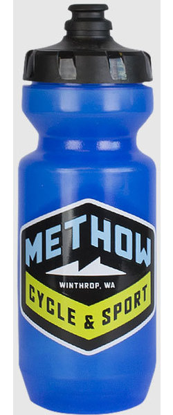 Methow Cycle & Sport Blue Water Bottle - 22 oz.