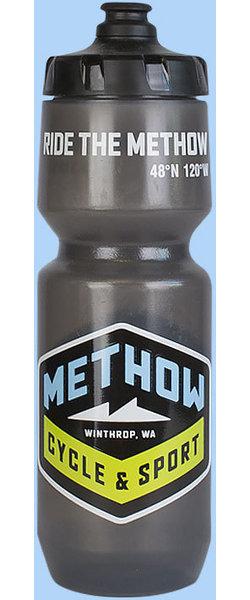 Methow Cycle & Sport Grey Water Bottle - 26 oz.