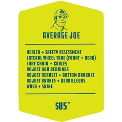 Methow Cycle & Sport Average Joe Service Package