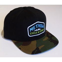Methow Cycle & Sport Camo Billed Hat