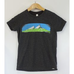 Methow Cycle & Sport Youth Mountain Logo Tee