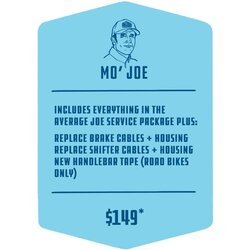 Methow Cycle & Sport Mo Joe Service Package