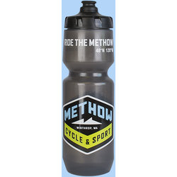 Methow Cycle & Sport Grey Water Bottle - 26 oz.