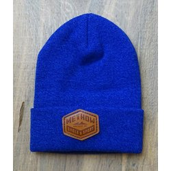 Methow Cycle & Sport Cuffed Beanie - Leather Patch