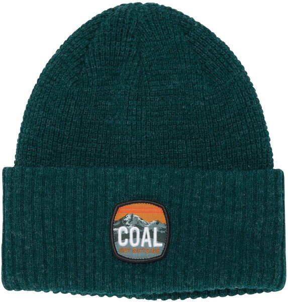 Coal Headwear The Tumalo Waffle Knit Beanie Color: Heather Forest Green