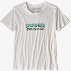 Patagonia Women's Pastel P-6 Logo Organic Cotton Crew T-Shirt