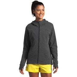 The North Face Sunbaked Red Heather Women's Motivation Fleece Full Zip