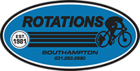 Rotations Bicycle Center logo - link to home page