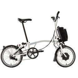 Brompton E-Bike H2L White