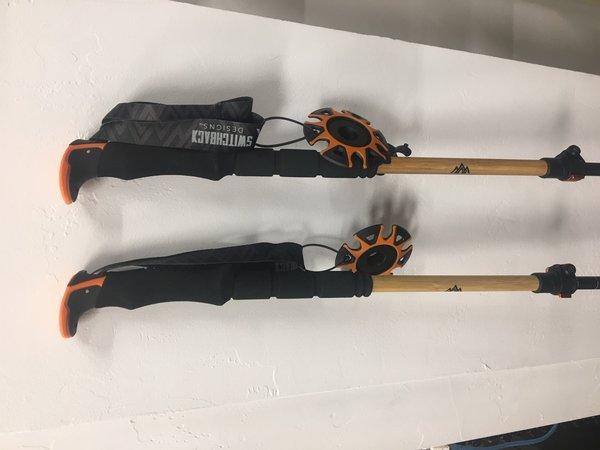 Switchbak Designs Bamboo, adjustable pole