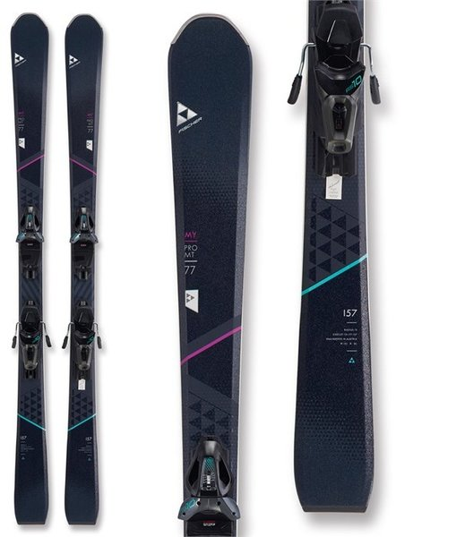 Fischer Skis Fischer My Pro MT 77 Powerrail Skis w/ RS 10 GW Bindings