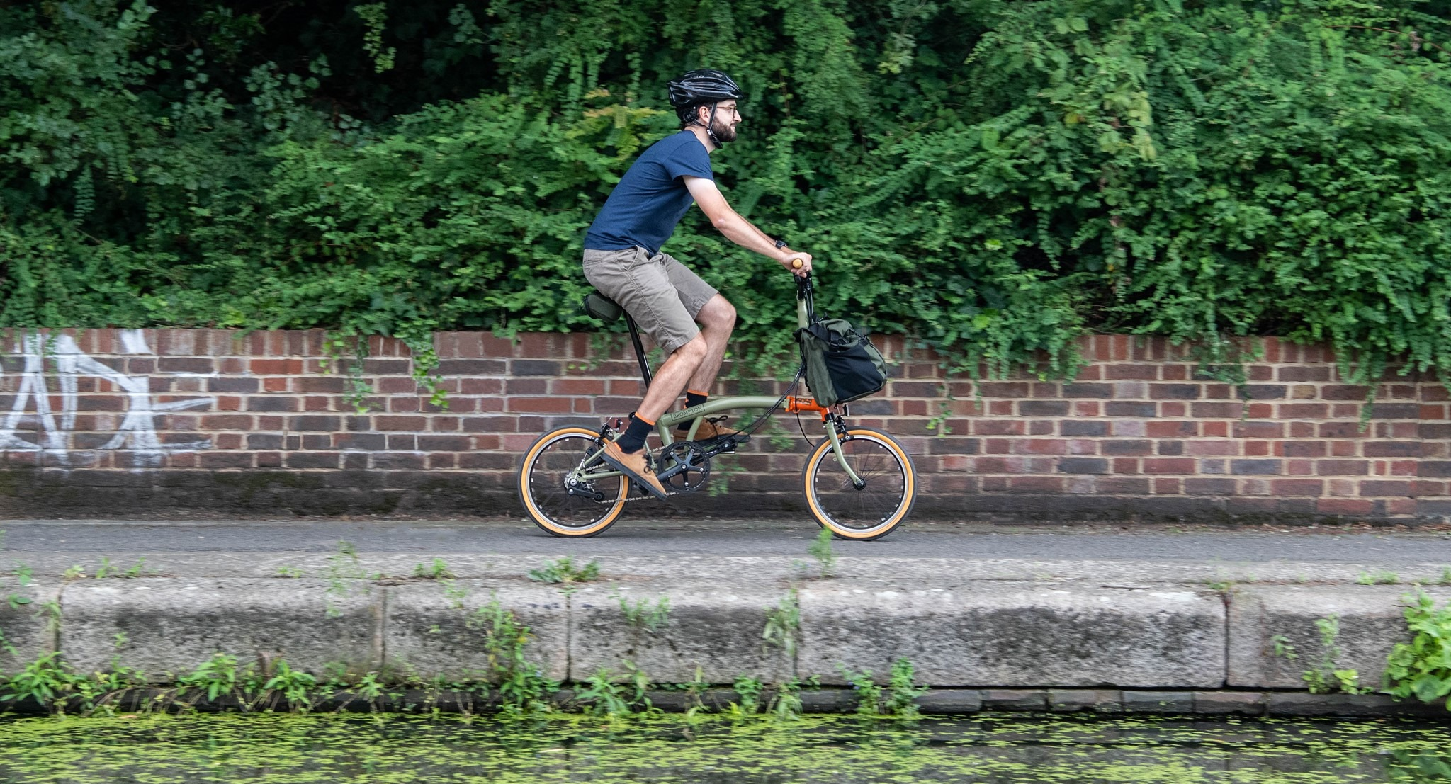 Brompton Explore is made for escaping