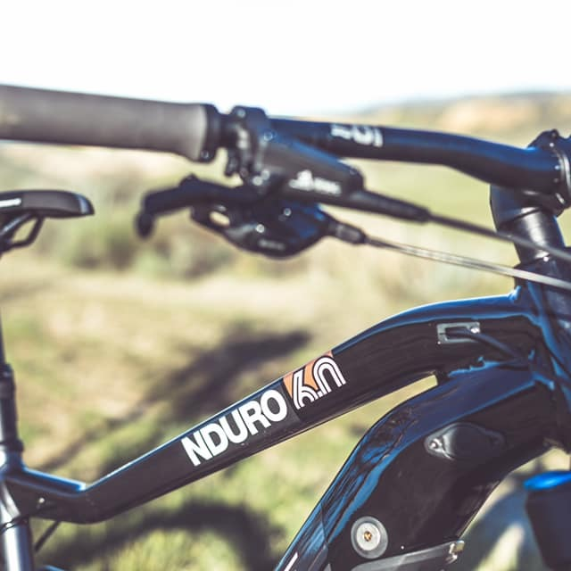 Haibike's NDURO 6.0 has a 500Wh Bosch battery