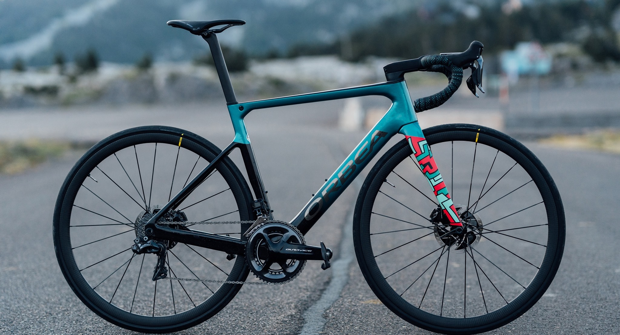 The Orbea Orca is highly customizable