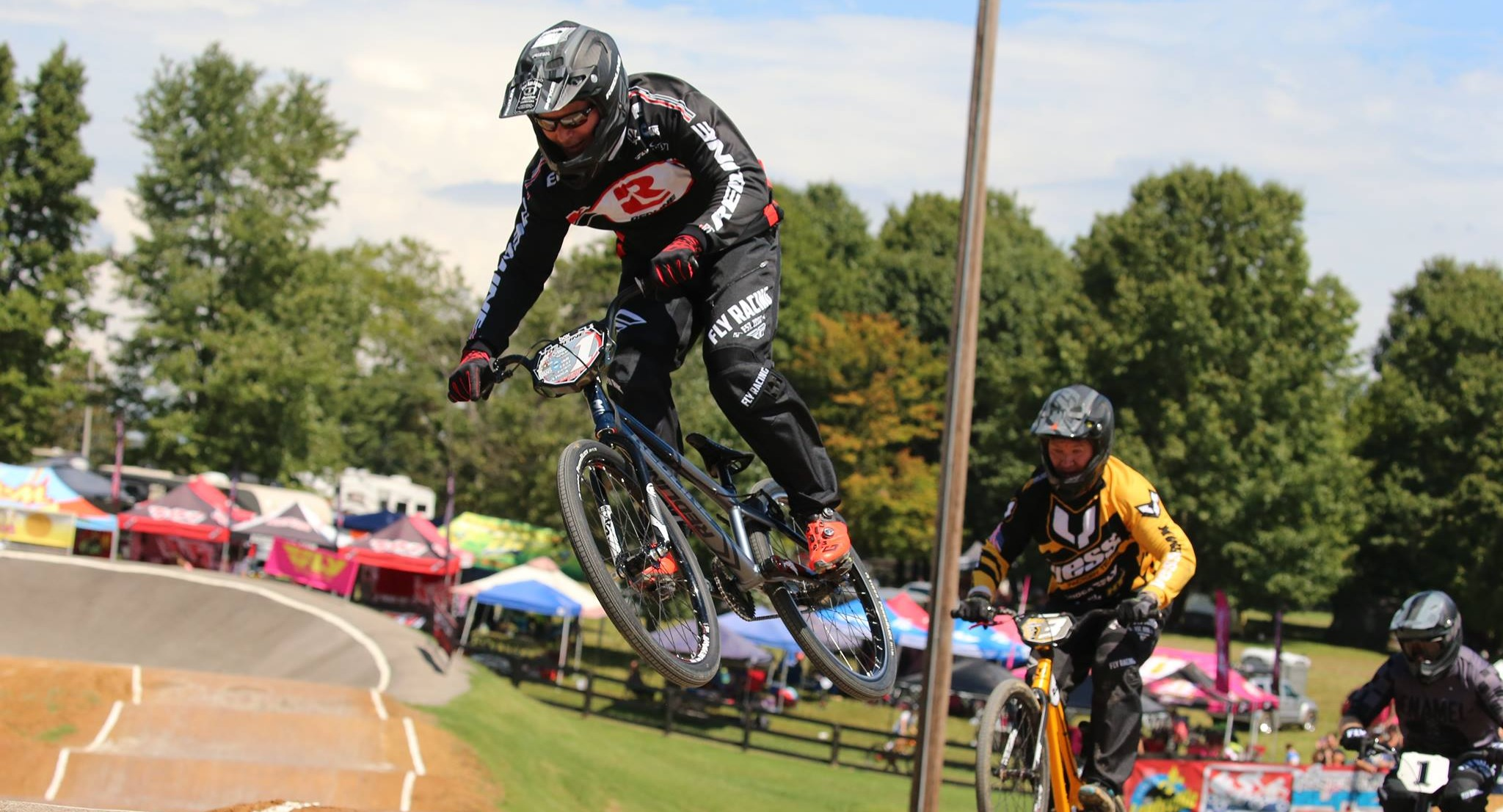 Redline veteran rider Eric Rupe leading the charge