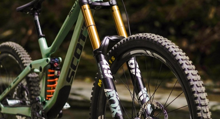 Brendan Fairclough's custom Scott Gambler