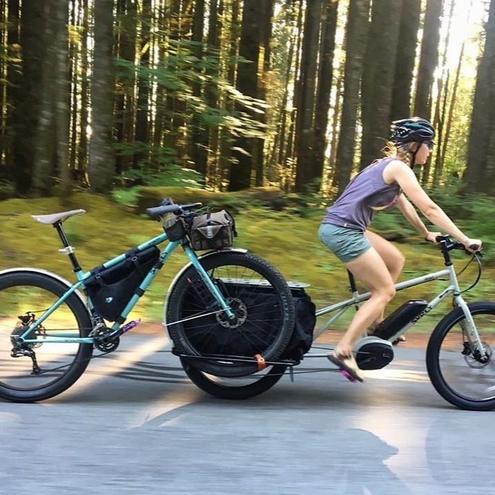 The Surly Big Easy lets you do everything by bike
