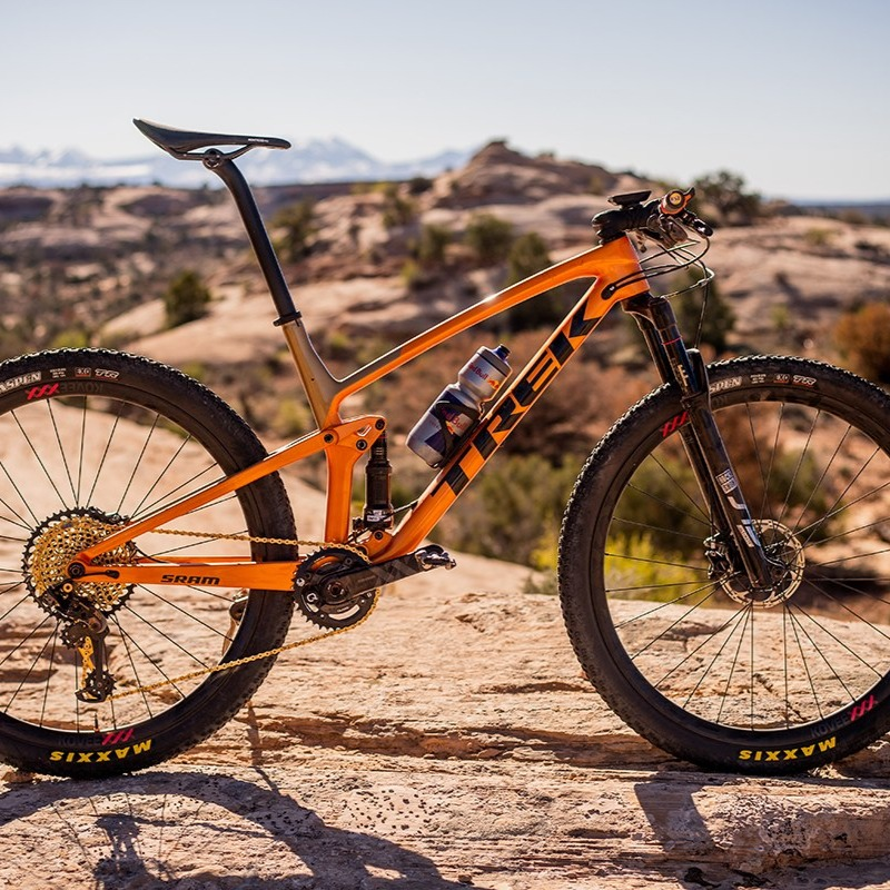 Trek's Top Fuel mountain bike is fast, fun, and ready for adventure