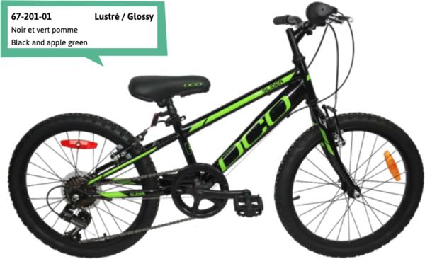 "DCO Slider 20"" Boy's 7-Speed Bike - PRE-ORDER"