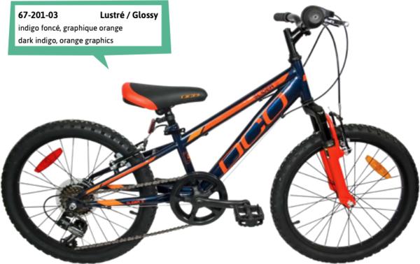 """DCO Slider S 20"""" Boy's 7-Speed Suspension Bike - PRE-ORDER"""