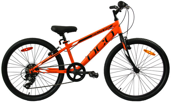 "DCO Salellite Sport 24"" Boy's 7-Speed Mountain Bike"