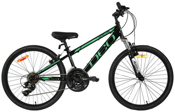 "DCO Salellite 24"" Boy's 21-Speed Suspension Mountain Bike"