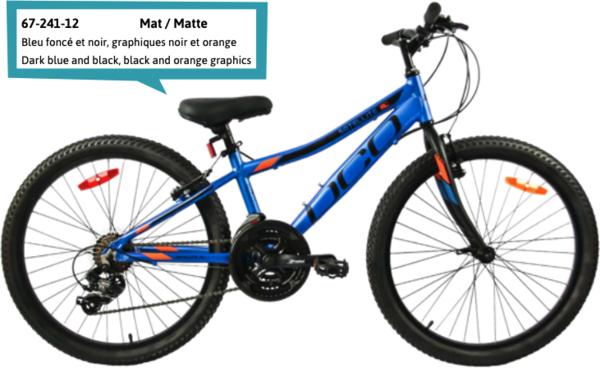 "DCO Salellite 24"" Boy's 21-Speed Aluminum Mountain Bike - PRE-ORDER"