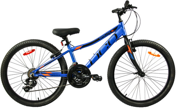 "DCO Salellite AL 24"" Boy's 21-Speed Aluminum Mountain Bike"