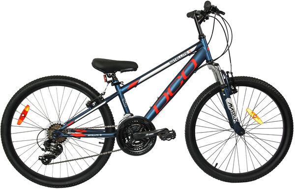 "DCO Salellite S 24"" Boy's 21-Speed Suspension Mountain Bike"