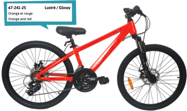 "DCO Salellite ALT 24"" Boy's 21-Speed Aluminum Disc Mountain Bike - PRE-ORDER"