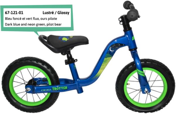 """DCO Trotter 12"""" Boy's Balance Bike - PRE-ORDER"""