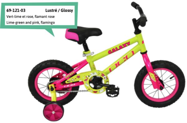 "DCO Galaxy Girl's 12"" Bike - PRE-ORDER"