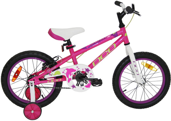 "DCO Galaxy 16"" Girl's Bike Color: Pink/Purple"