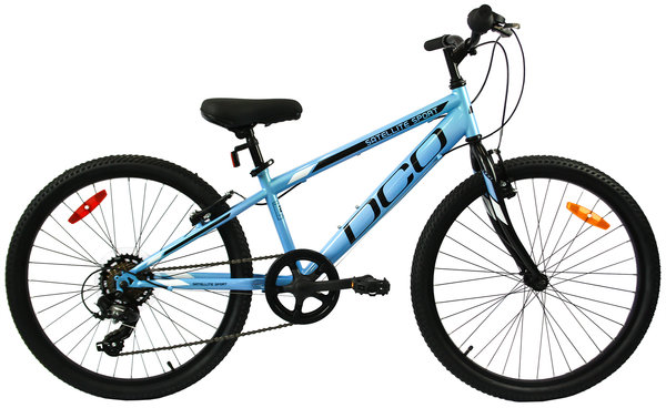 "DCO Salellite Sport 24"" Girl's 7-Speed Mountain Bike"