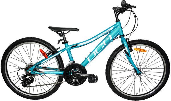 "DCO Salellite AL 24"" Girl's 21-Speed Aluminum Mountain Bike"
