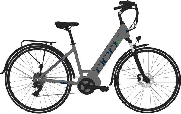 DCO Libert-E 2.0 E-Bike Step-Through
