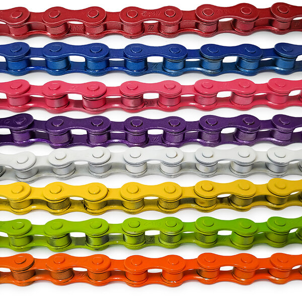 KMC 410H 112 Link BMX/Single Speed Coloured Chain
