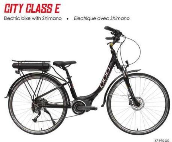 DCO City Class S.T.E.P.S E-Bike Step-Through