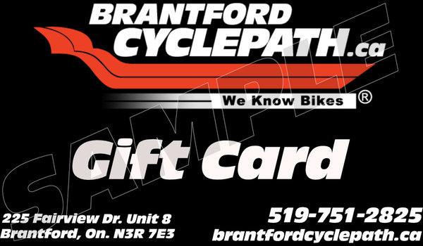 Brantford Cyclepath Gift Card