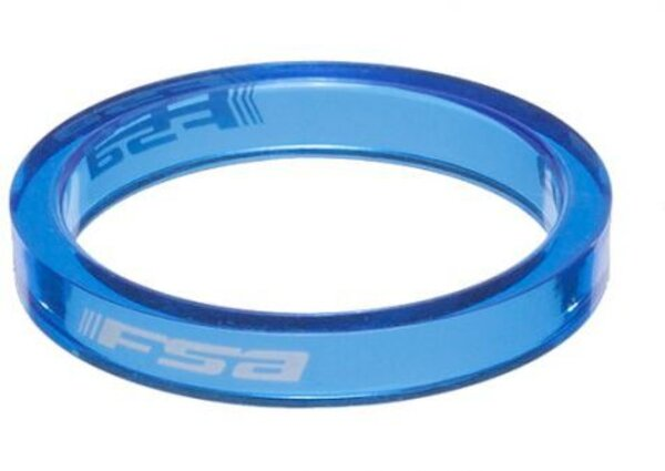 FSA PolyCarbonate Headset Spacer 1-1/8-Inch x 5mm