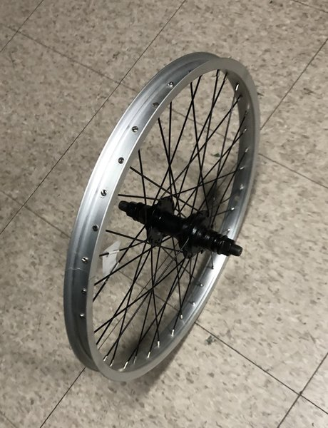 "Generic 20"" BMX 14mm Axle, 9T Driver Single Wall Rear Wheel"