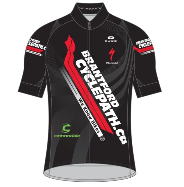Brantford Cyclepath Sugoi Men's Evolution Shop Jersey