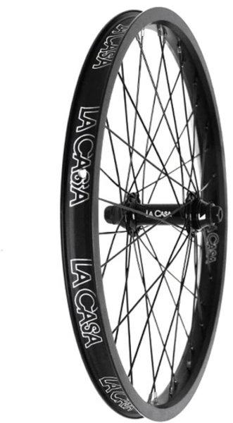 "La Casa 20"" BMX Double-Wall Front Wheel (Female 3/8"" Axle)"